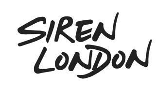 sirenlondon — Criss Cross Black Ring