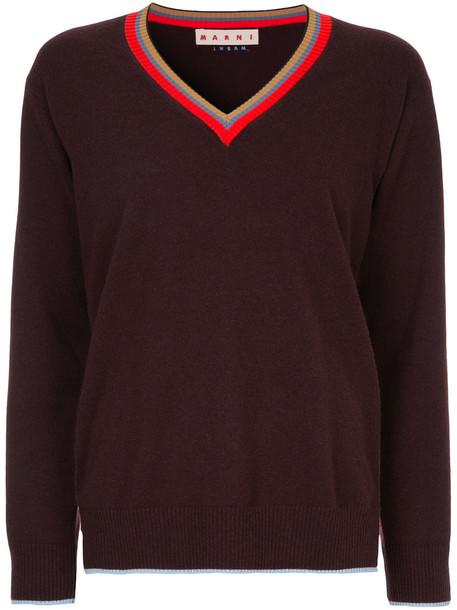 sweater women brown