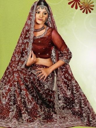 prom dress indian dress