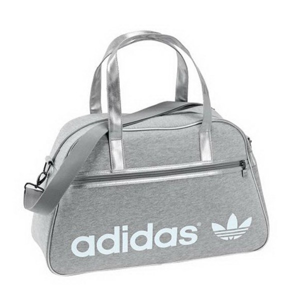 06e7441ae8 bag adidas handbag fashion grey sexy adidas originals grey bag sports bag  black white