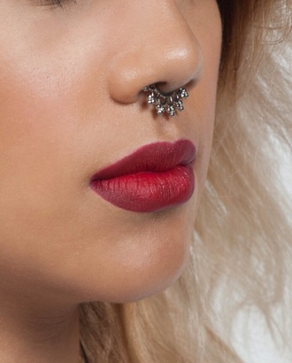 jewels septum piercing faux septum jewlrey nose ring boho jewelry