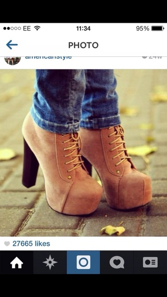 shoes boots brown hot celebrity fashion trend