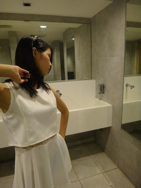 Angel Dress in White