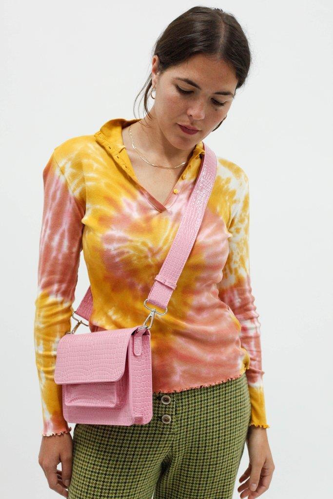 Cayman Pocket Bag - Pink