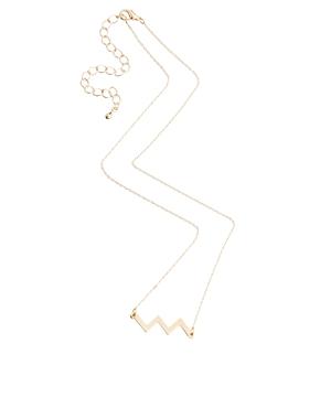 ASOS | ASOS - Collier zigzag chez ASOS