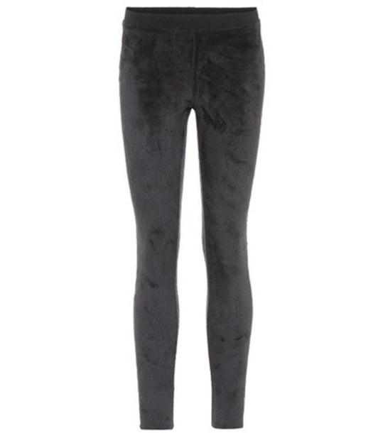 ATM Anthony Thomas Melillo leggings velvet black pants