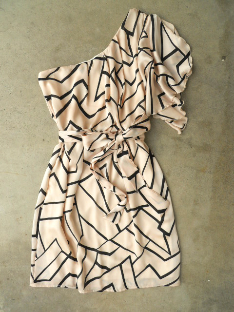 MALI STYLE: Geometric Angles Dress [3082] - $38.00 : Vintage Inspired... - Socialbliss