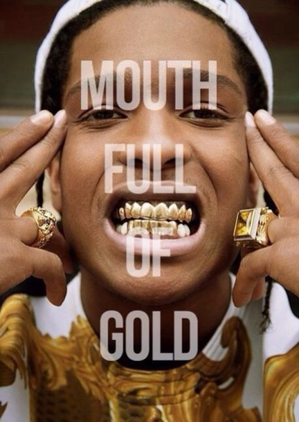 Jewels Aap Rocky Grillz Gold Wheretoget