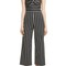 Veronica beard cypress stripe strapless jumpsuit | nordstrom