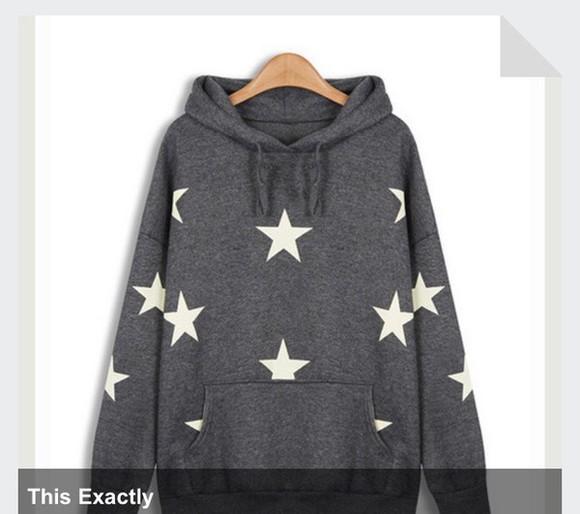star stars star sweater hoodie pullover