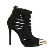 shoes,black high heels,schutz
