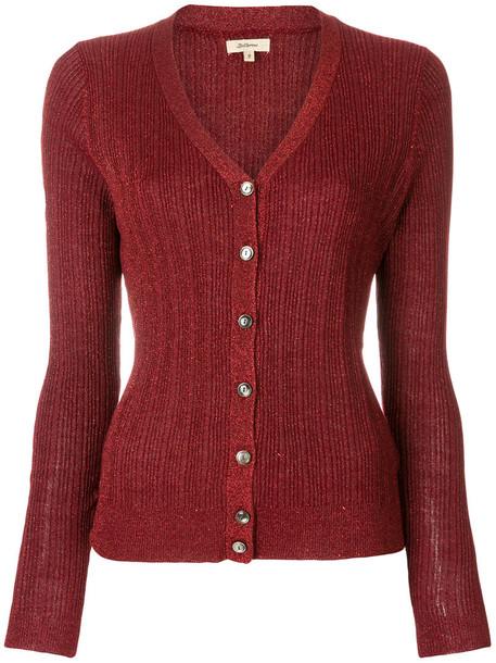 Bellerose cardigan cardigan metallic women knit red sweater