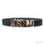 Moschino Logo Inspired 100% Genuine Leather Belt / TheFashionMRKT
