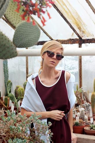sirma markova blogger romper top pants sunglasses