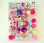 nail polish,bag,glass,tray,top,eos,lip balm,lip gloss,phone cover,beautiful,cosmetics,make-up,eoslipbalm,babylips,hiboux,lipstick,lips