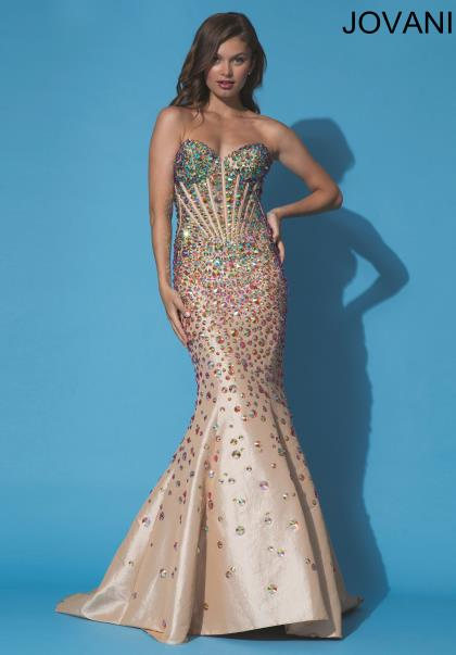 Jovani Dresses 90132 at Peaches Boutique
