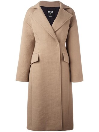 coat women nude cotton