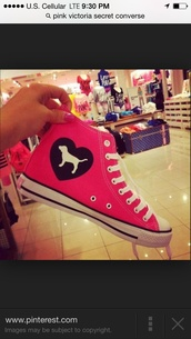 shoes,pink vs