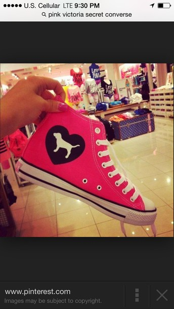 shoes pink vs