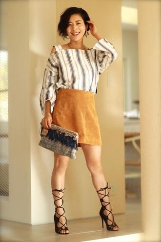 fetish tokyo blogger top skirt jewels bag shoes