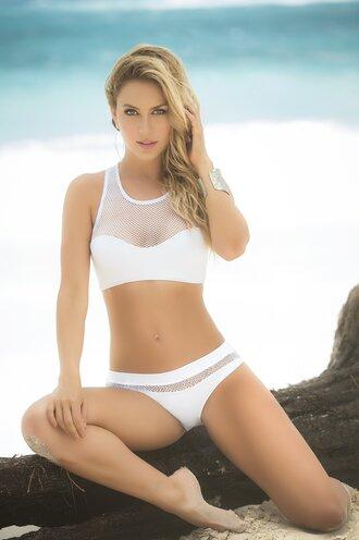 swimwear white bikini bikini bikini top bikini bottoms white swimwear