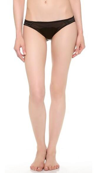 mini black underwear