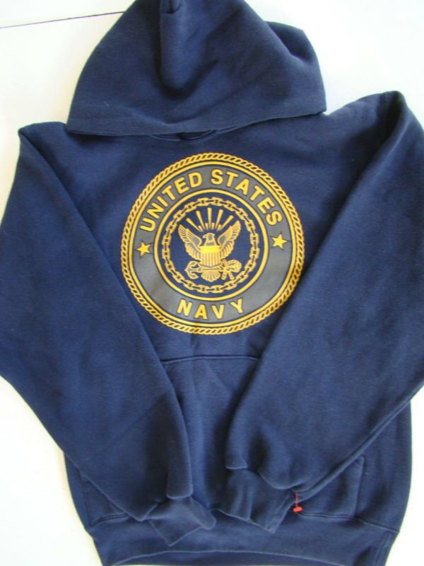 Navy Pt Hooded Sweatshirt - Gray Cardigan Sweater