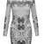 Mono Leo Bodycon Dress   Outfit Made