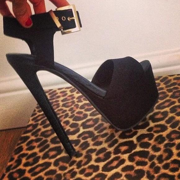 shoes platform high heels platform shoes black high heels gold stillettos peep toe heels bows