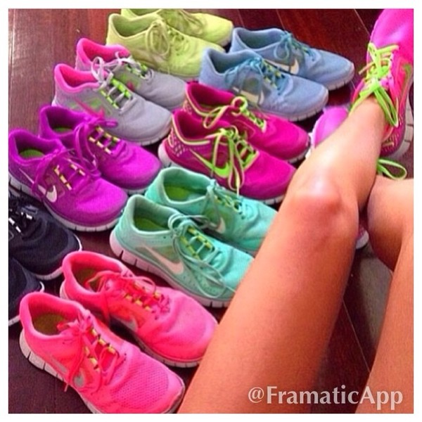 shoes nike nike air force running shoes nice nike free run colorful hot punch style yellow mint green purpel nice shoes summer shoes 2014