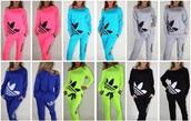 sweater,adidas tracksuit bottom,neon adidas tracksuit,pants,adidas sweater,joggers,adidas