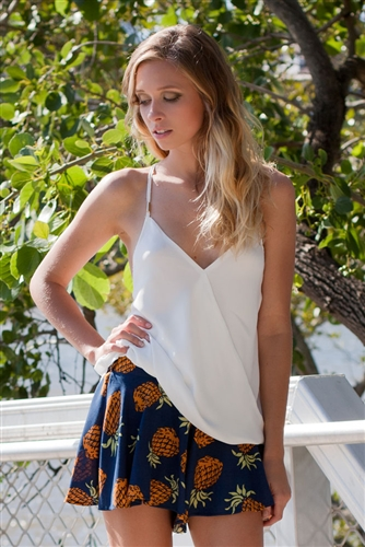 Shop Fashion Avenue - Pineapple Party Shorts