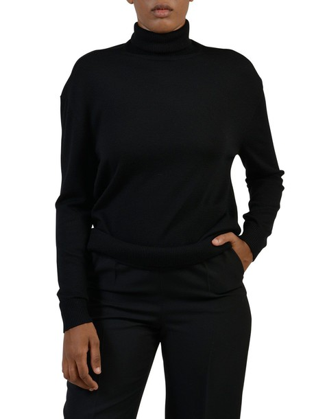 Balenciaga jumper cashmere jumper wool black sweater