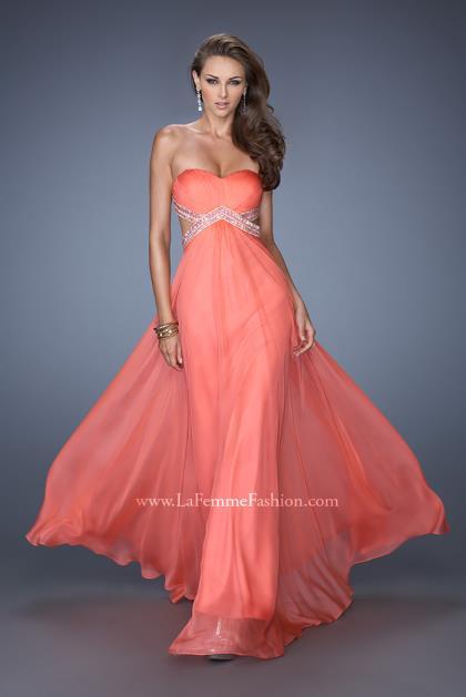 La Femme Prom Dresses 19382 at Peaches Boutique