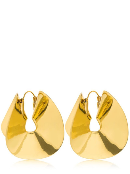 ELLERY Siouxsie Flounce Earrings in gold