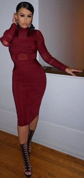 dress,dream it wear it,clothes,long sleeves,burgundy,burgundy dress,red,red dress,wine red,high neck,turtleneck,mesh,mesh dress,see through,see through dress,bodycon,bodycon dress,party,party dress,sexy party dresses,sexy,sexy dress,party outfits,summer dress,summer outfits,spring dress,spring outfits,fall dress,fall outfits,winter dress,winter outfits,classy,classy dress,elegant,elegant dress,cocktail,cocktail dress,girly,date outfit,birthday dress,holiday dress,holiday season,romantic,romantic dress,dope,cute,cool,trendy,style,stylish,amrezy,blogger,girl,pretty,fashion,instagram,instagram dress,bandage dress,influencer