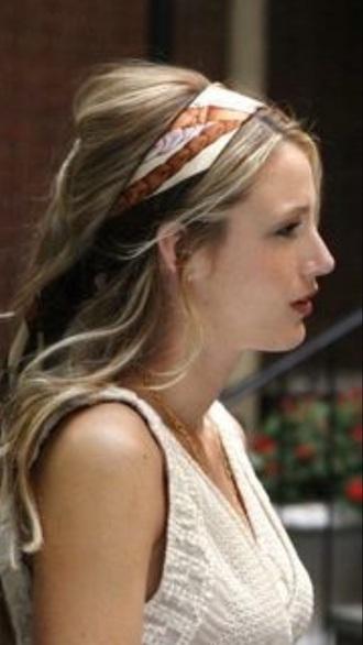 hair accessory hair gossip girl blake lively serena van der woodsen style