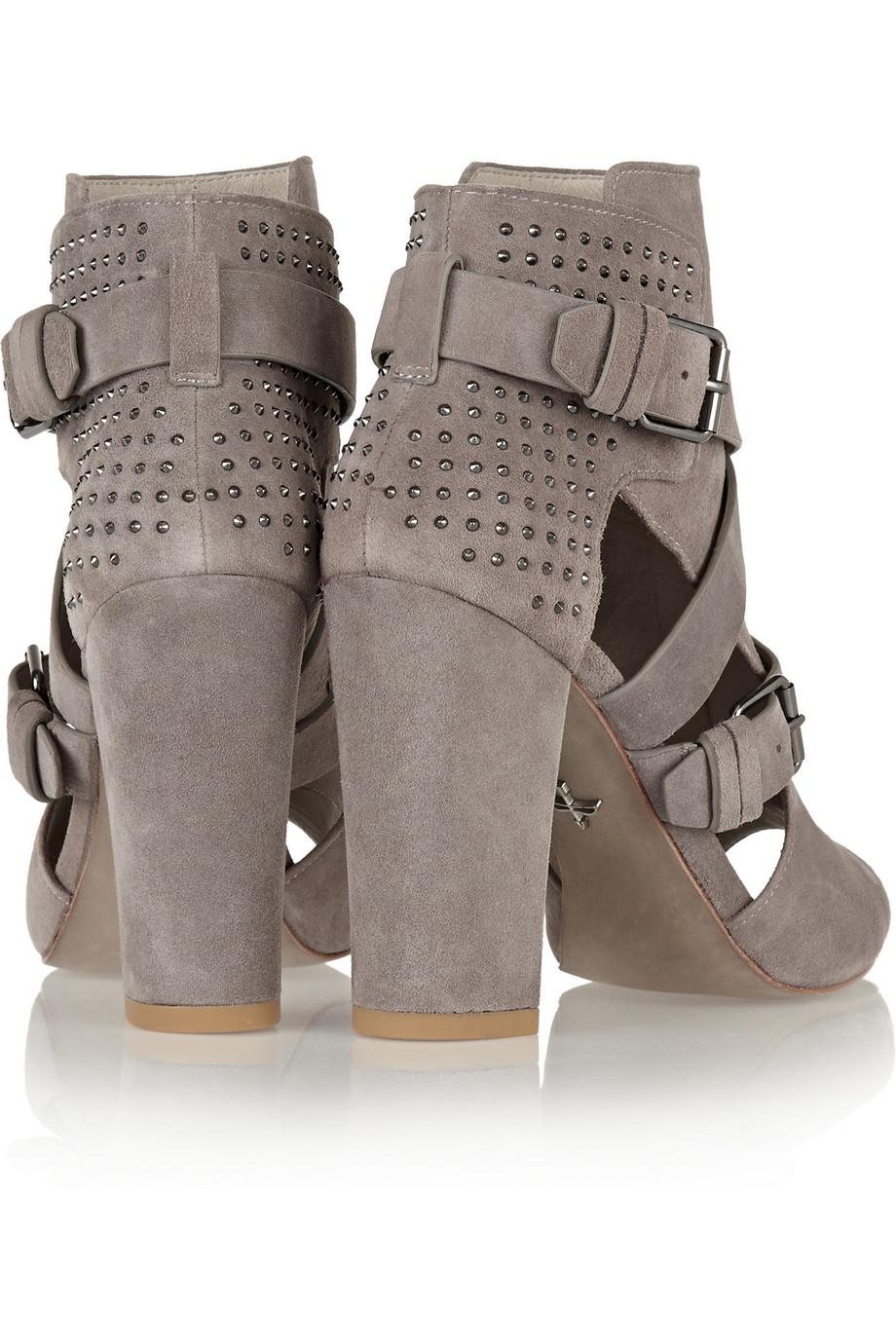 Pour la victoire estel studded suede sandals – 50% at the outnet.com
