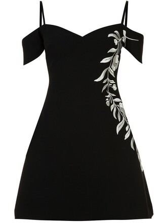 dress women floral black