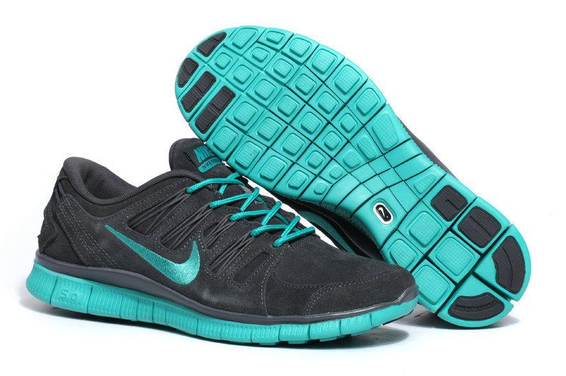 Cheap Nike Free 5.0 V2 Anti-Fur Dark Grey Cyan Women Shoes - Free Run 3.0 Shoes,Cheap Free Runs 5.0 V2 V4,Nike Lebrons 11,Cheap Nike KD 6,Nike Air Max 2014 Online