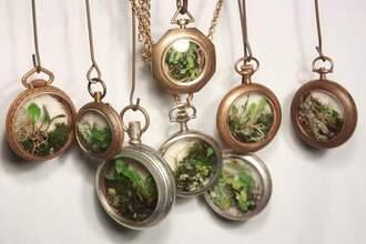 jewels plants necklace