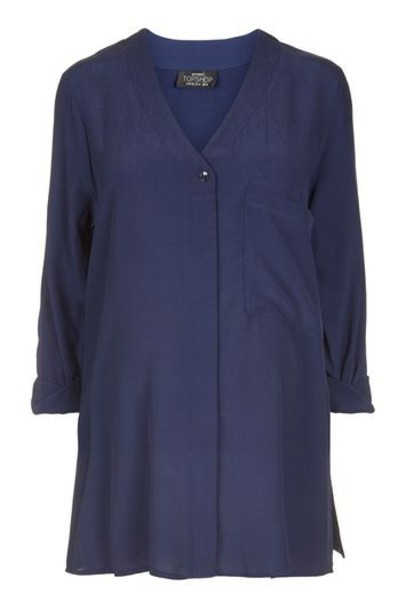 Topshop shirt long top