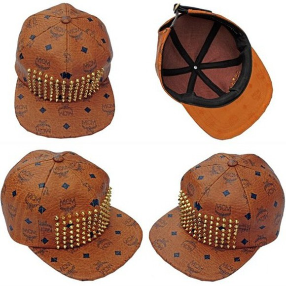 snapback mcm studs authentic