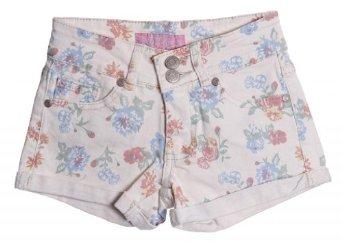 Amazon.com: Miss Jeans Girls Pastel Floral Print Five Pocket Shorts: Clothing
