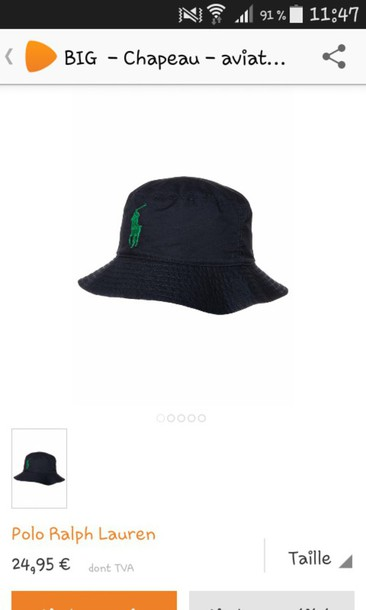 hat bucket hats swag black hat ralph lauren polo ralph lauren hat