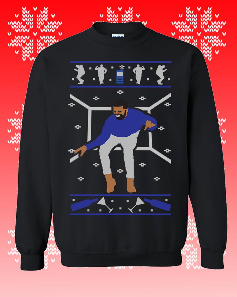 1 800 Hotline Bling Drake Ugly Christmas Sweater