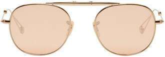 rose gold rose sunglasses gold