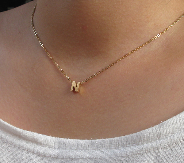 jewels stacking necklace cubic necklace name necklace jewelry personal ring memorial gift girlfriend gift baby name necklace initial name necklace handwriting necklace present ideas mother day mom gift father gift dad gift minimalist charm
