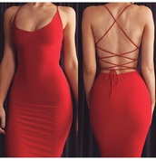 dress,strappy,red dress,red,criss cross back,bodycon dress,sexy,strappy dress,bodycon,party dress,sexy party dresses,sexy dress,party outfits,sexy outfit,summer dress,summer outfits,spring dress,spring outfits,fall dress,fall outfits,pool party,girly dress,elegant dress,cocktail dress,classy dress,cute dress,date outfit,birthday dress,clubwear,club dress,homecoming,homecoming dress,wedding clothes,wedding guest,engagement party dress