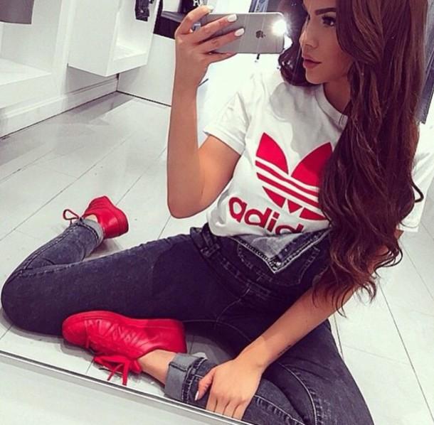 adidas superstar black and white footlocker
